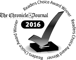 Chronicle Journal Reader's Choice Award Winner